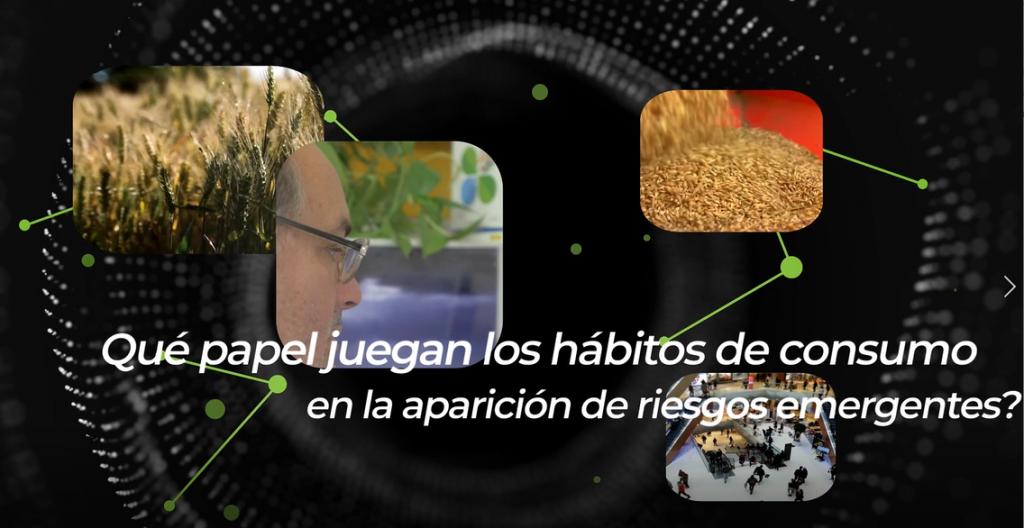 """Video """"Hábitos de consumo y riesgos emergentes"""""""